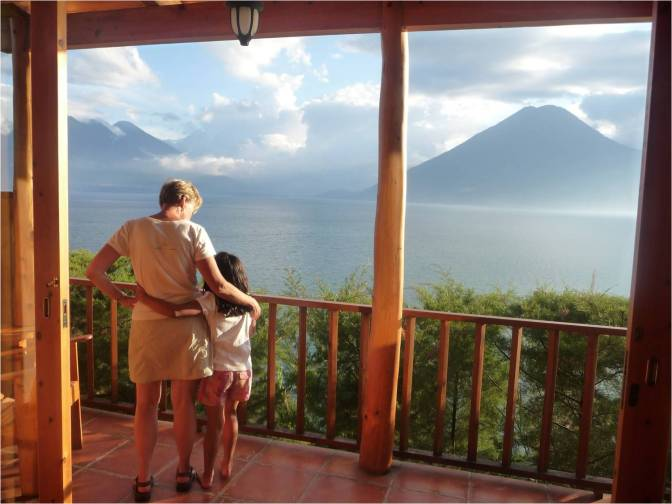 Families Experience Guatemala with Rick Steves Tour Guide